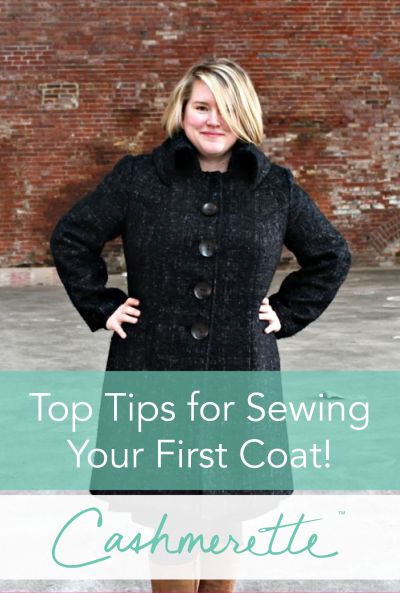 Top Tips for Sewing Your First Coat / Cashmerette
