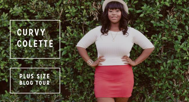 Curvy Colette: A Plus Size Blog Tour