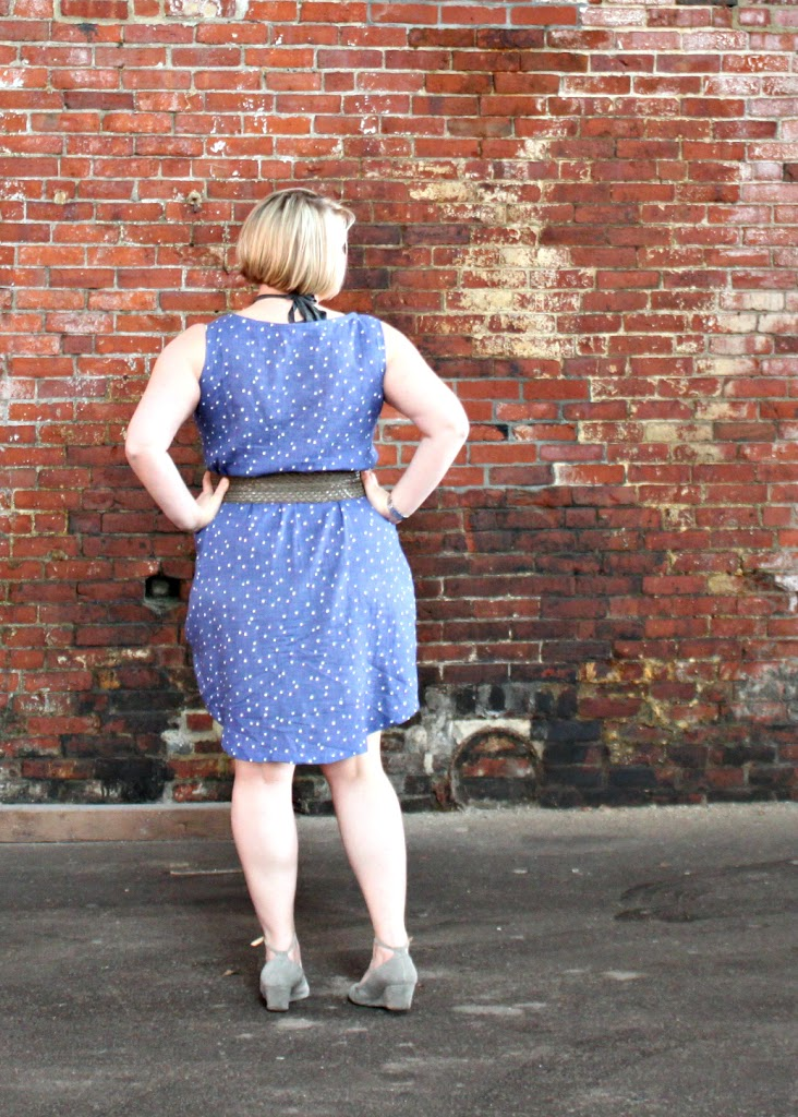 Sew Caroline tank dress