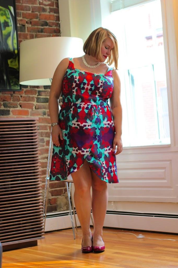 By Hand London Kim dress plus size