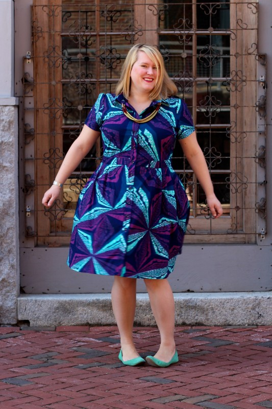 McCall's M6696 in Vlisco fabric | Cashmerette