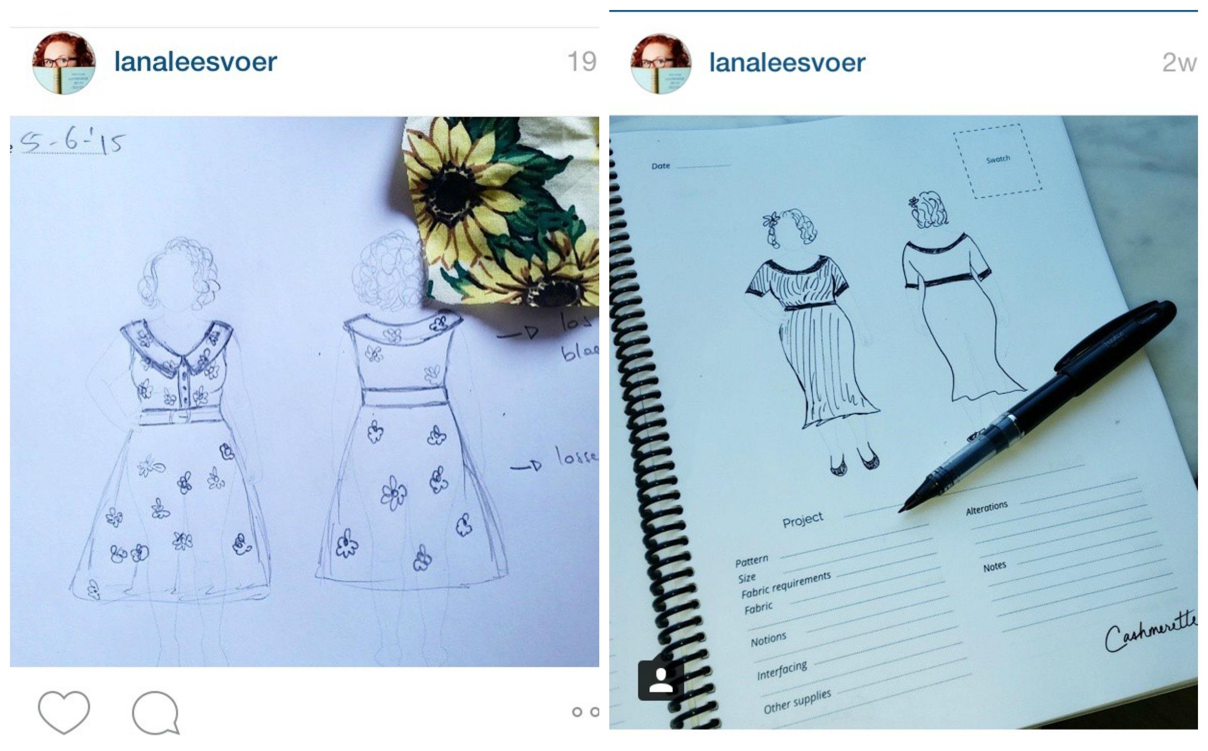 Cashmerette Curvy Sketchbook