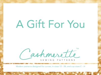 Cashmerette Patterns Gift Card