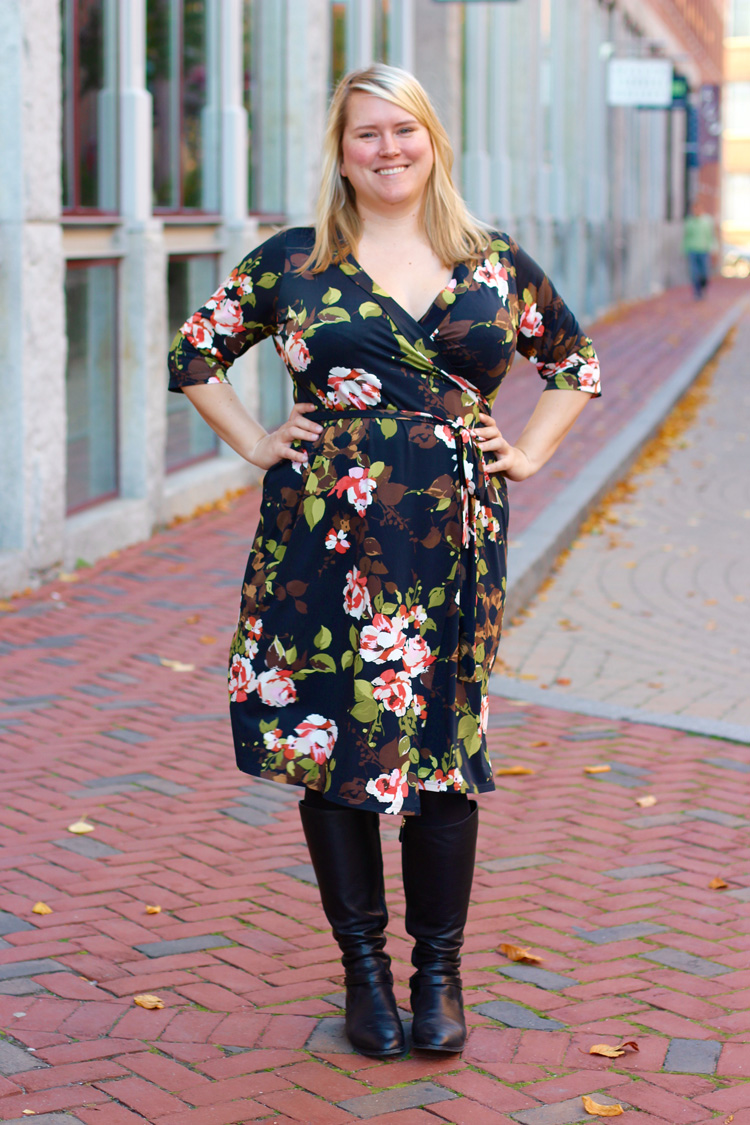 Cashmerette Appleton Dress Floral Fabric