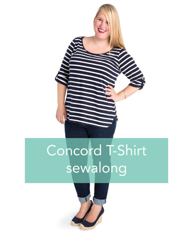 Cashmerette Concord T-Shirt sewalong