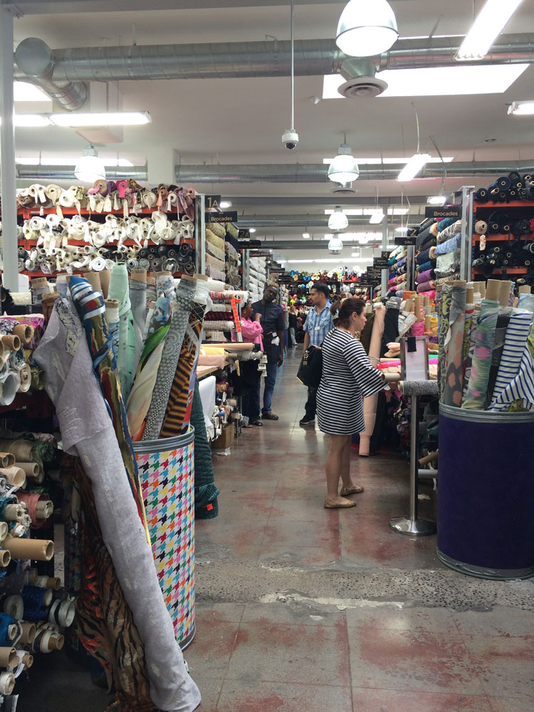 Fabric Shopping in Los Angeles