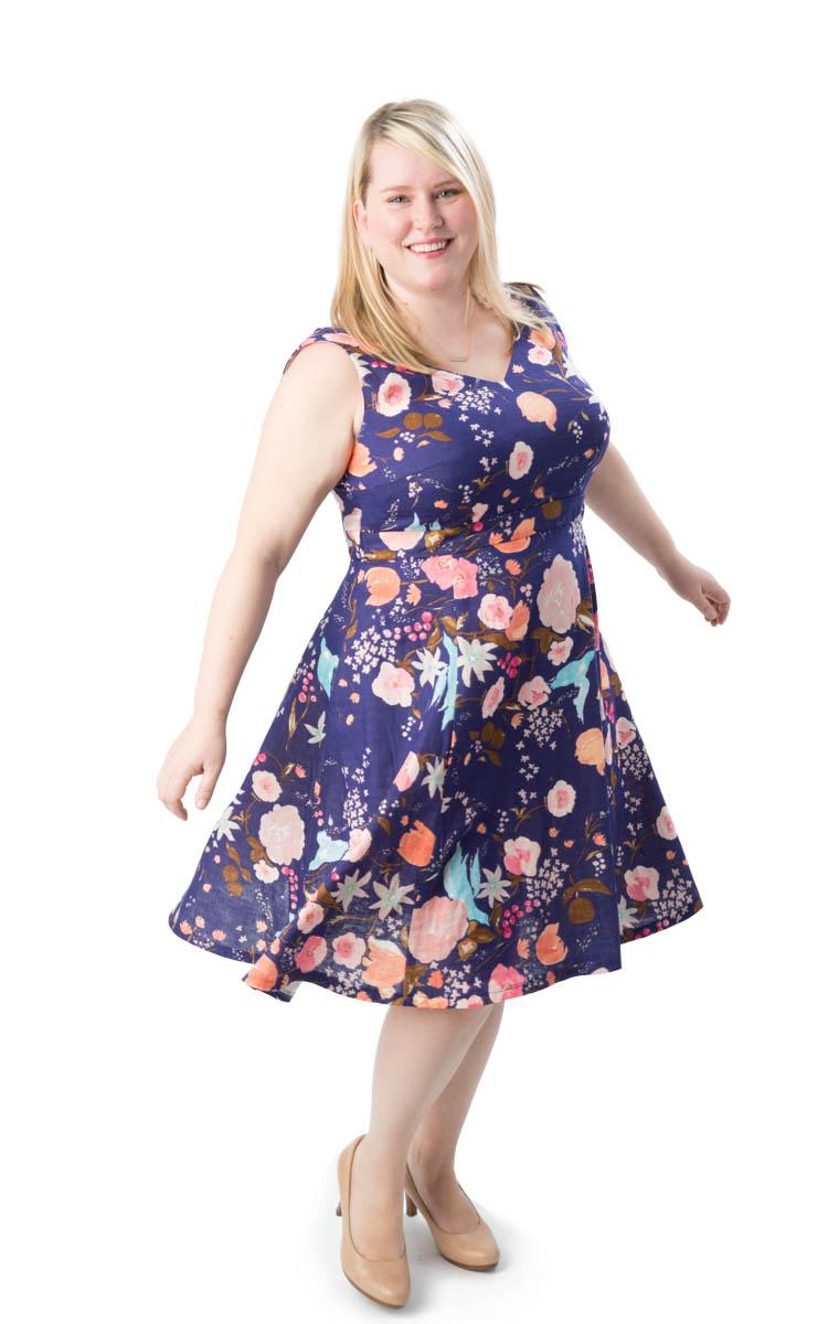 Cashmerette Upton Dress