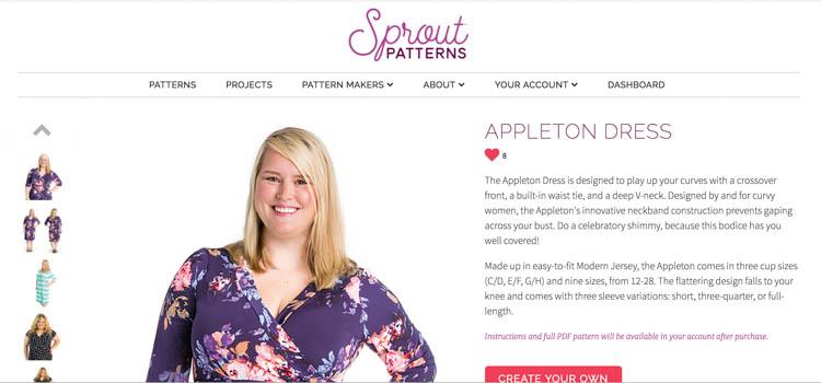 Sprout Patterns x Cashmerette Patterns