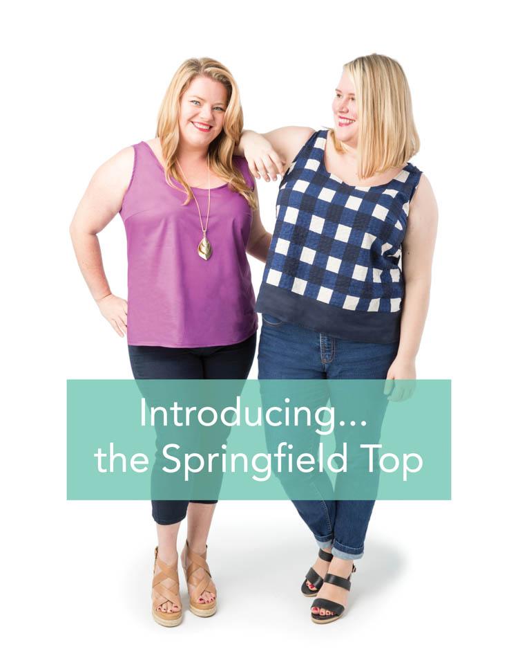 Cashmerette Springfield Top