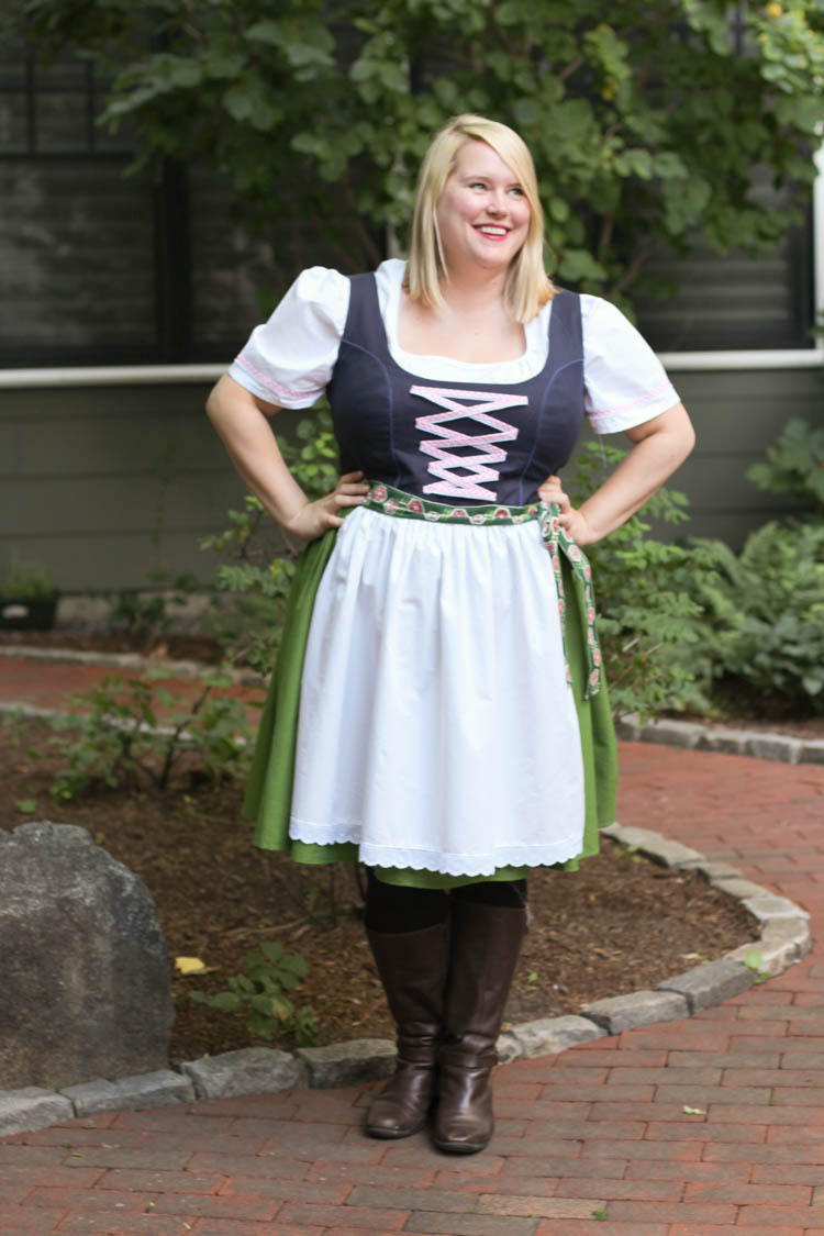 Prost! An Upton Dress dirndl hack for Oktoberfest ...