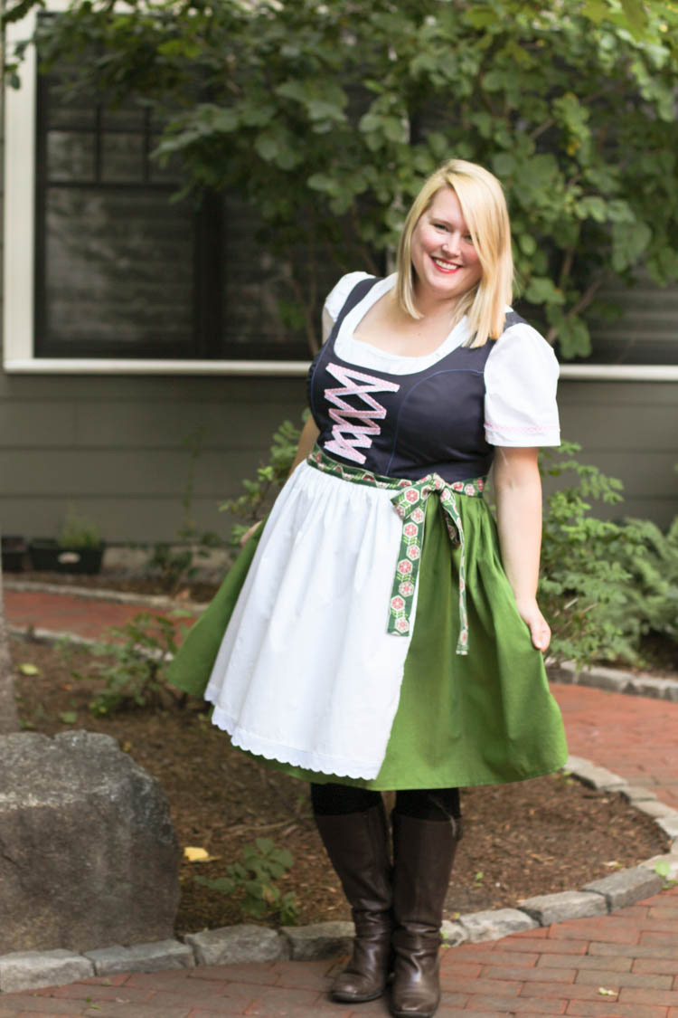 Upton Dress dirndl hack