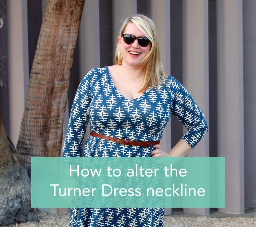 alter Turner Dress neckline