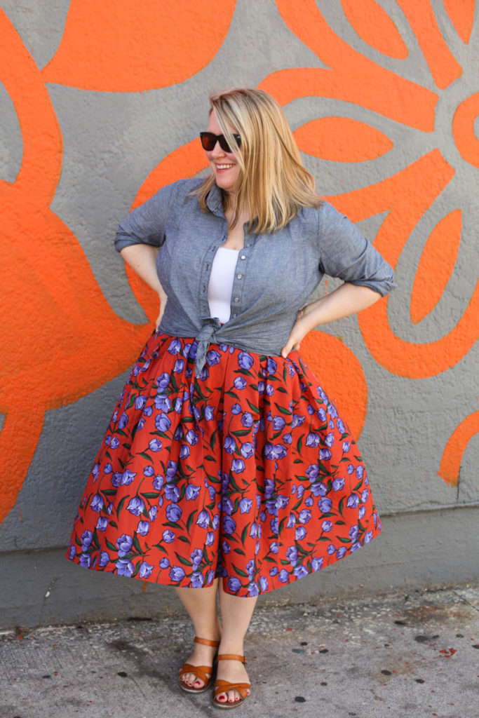 Upton Skirt Hack