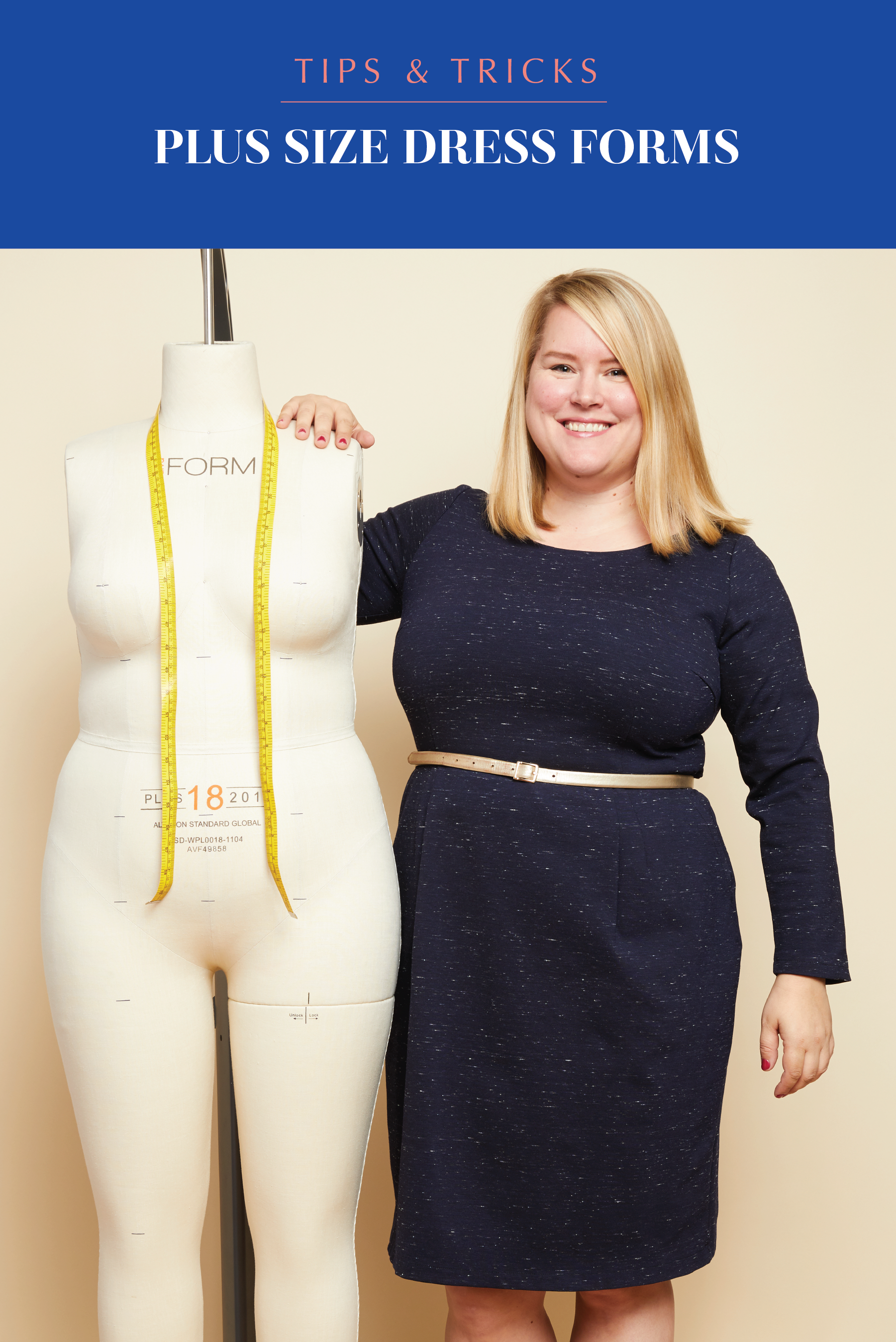 Plus size sewing dress forms: what you need to know | Cashmerette