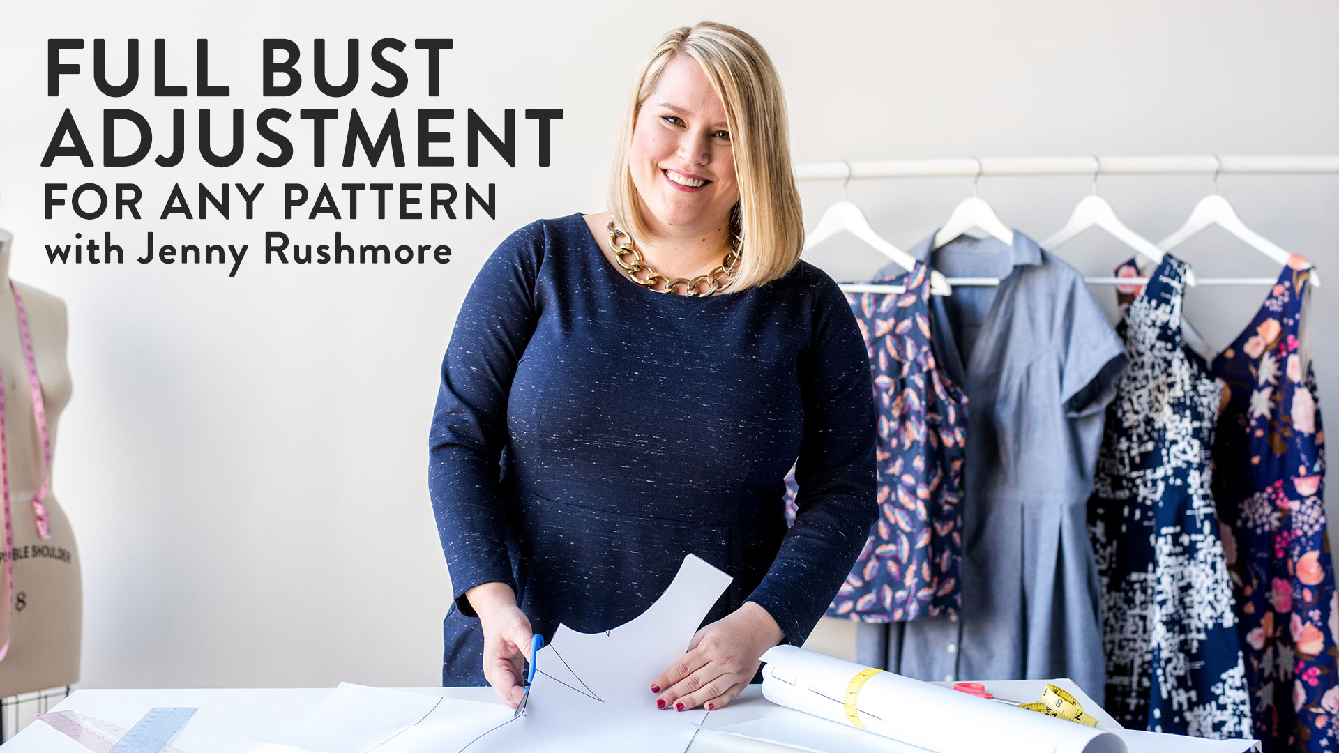 Full Bust Adjustment for Any Pattern