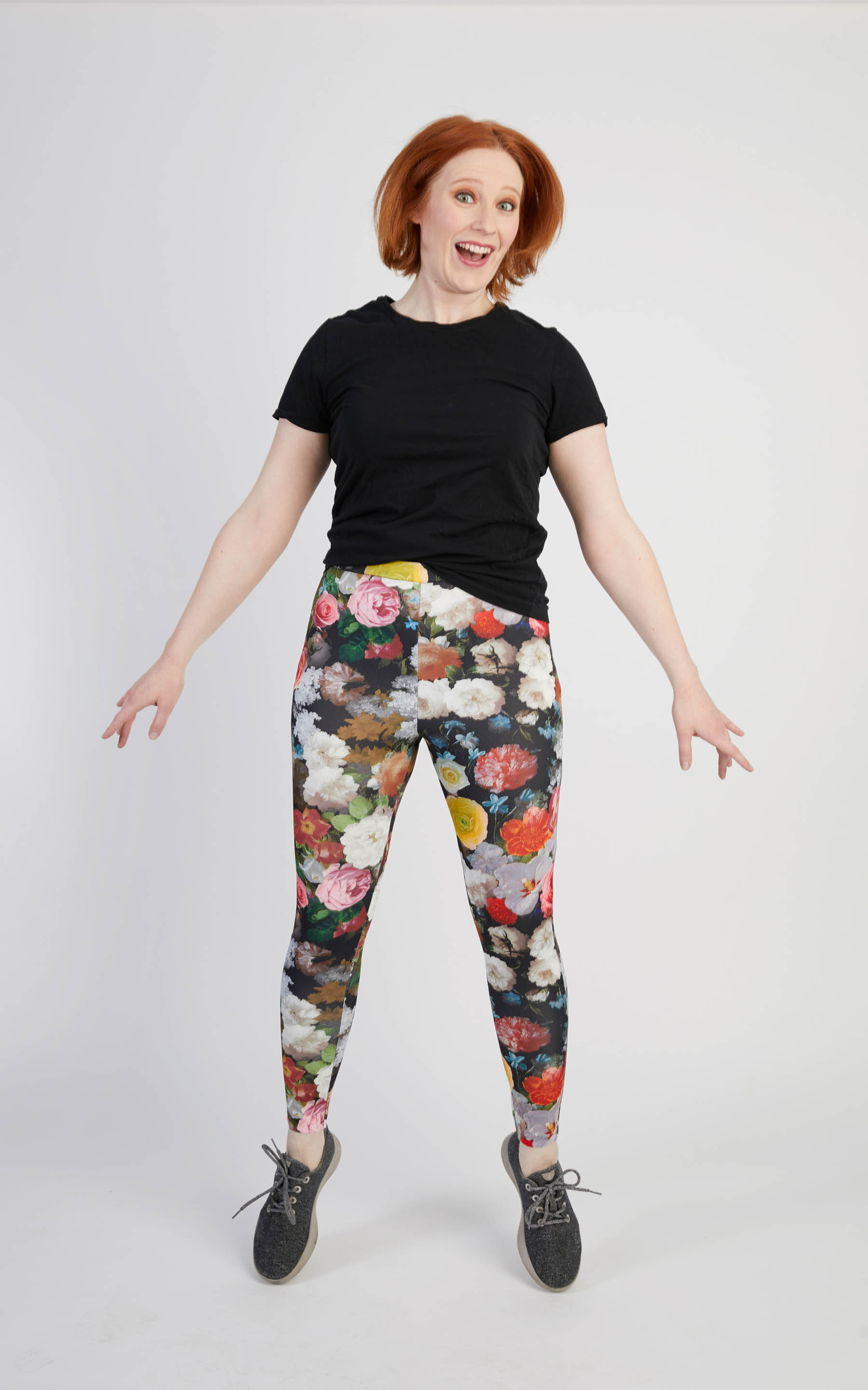 Cashmerette Belmont Leggings plus size activewear sewing pattern