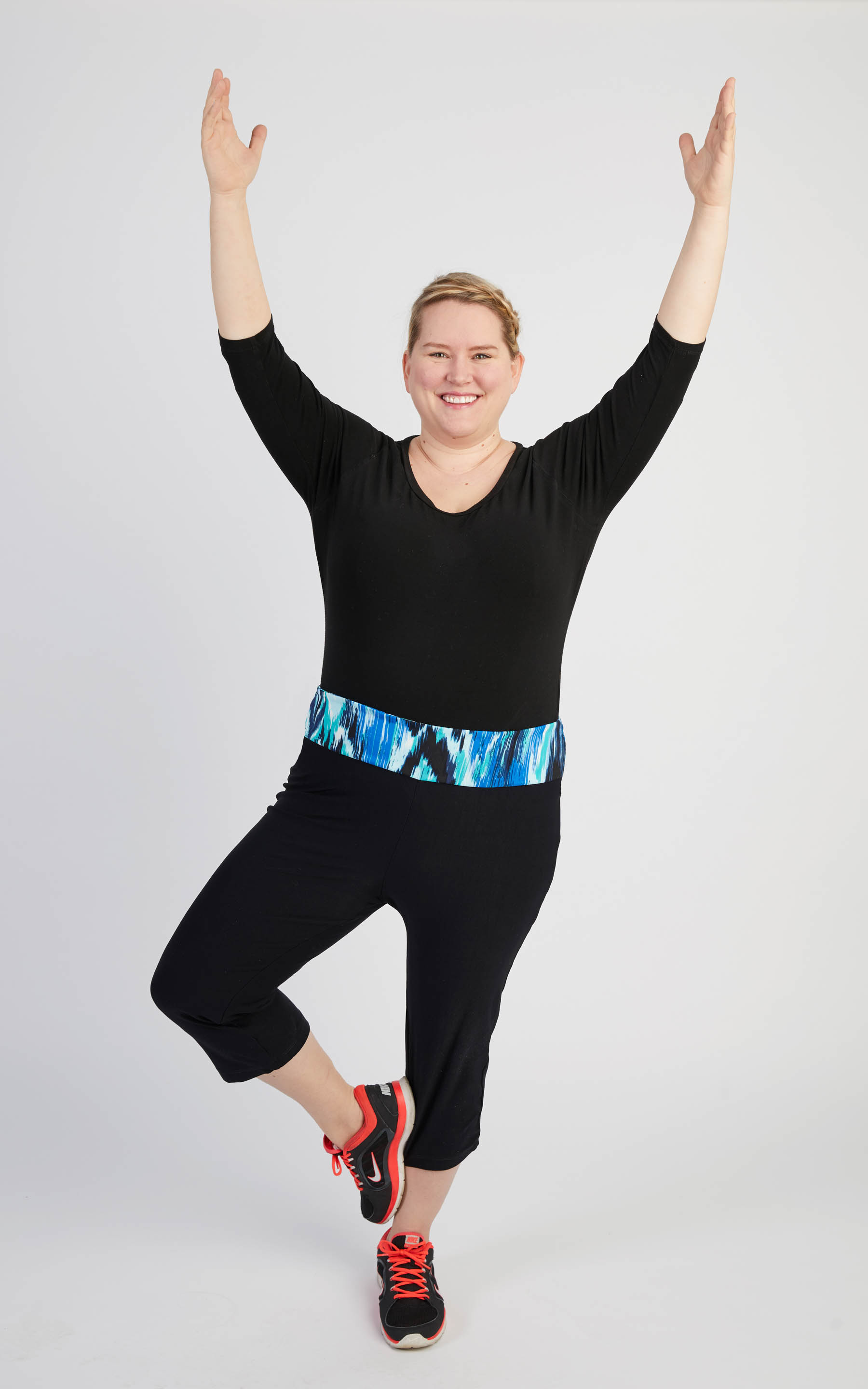 Belmont Yoga Pants plus size activewear sewing pattern