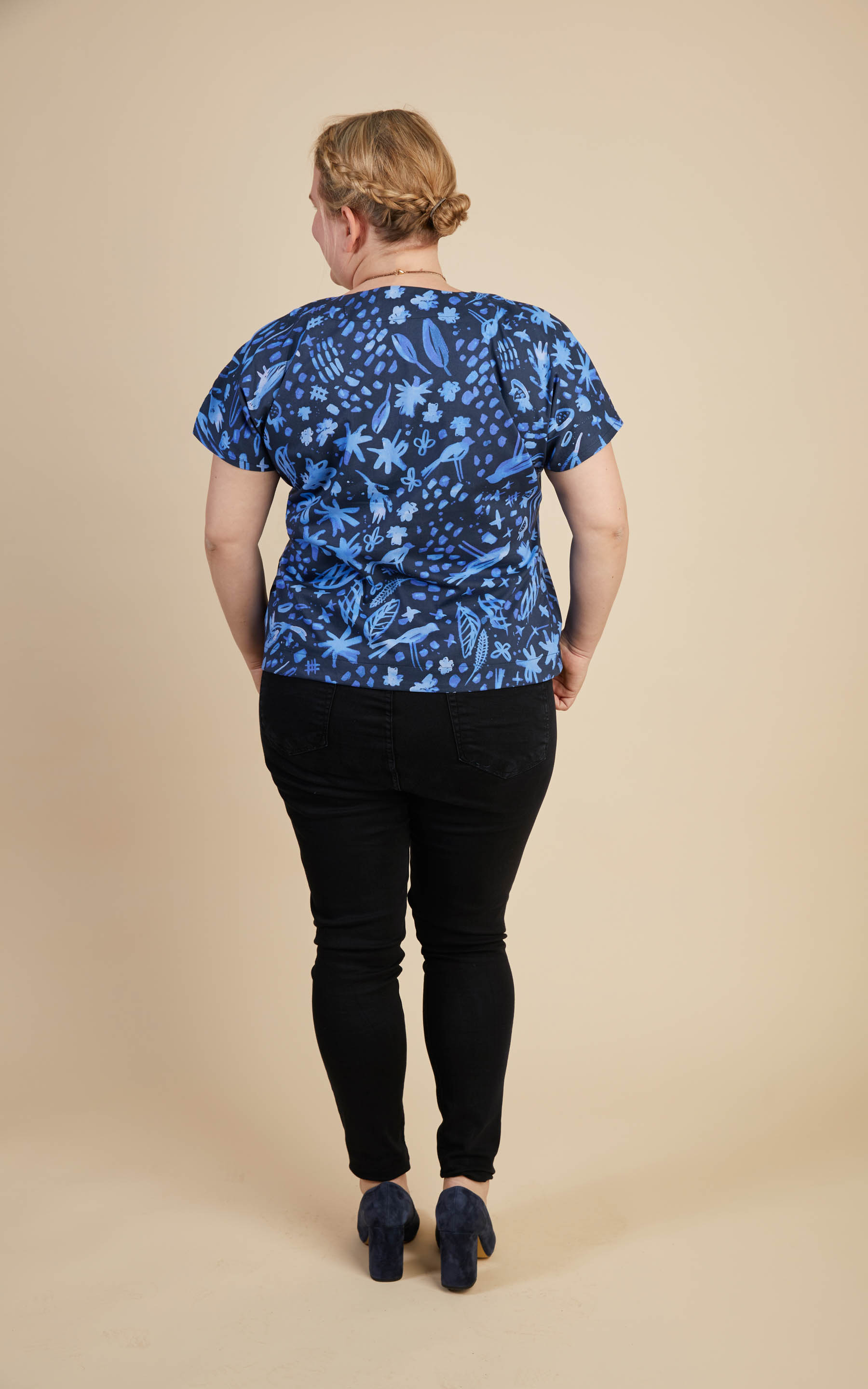 Cashmerette Cedar Dolman Top plus size activewear sewing pattern