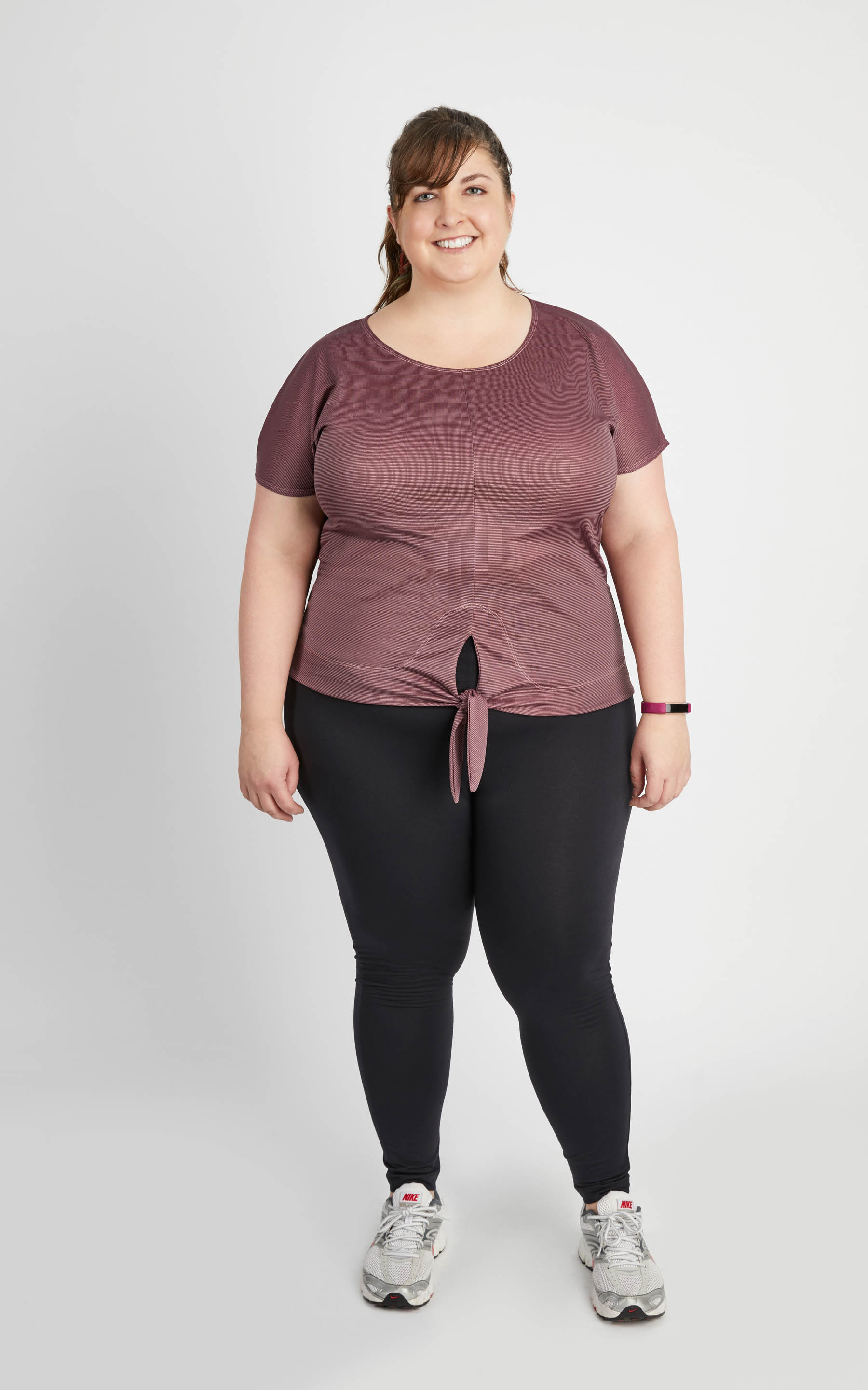 plus size activewear sewing pattern