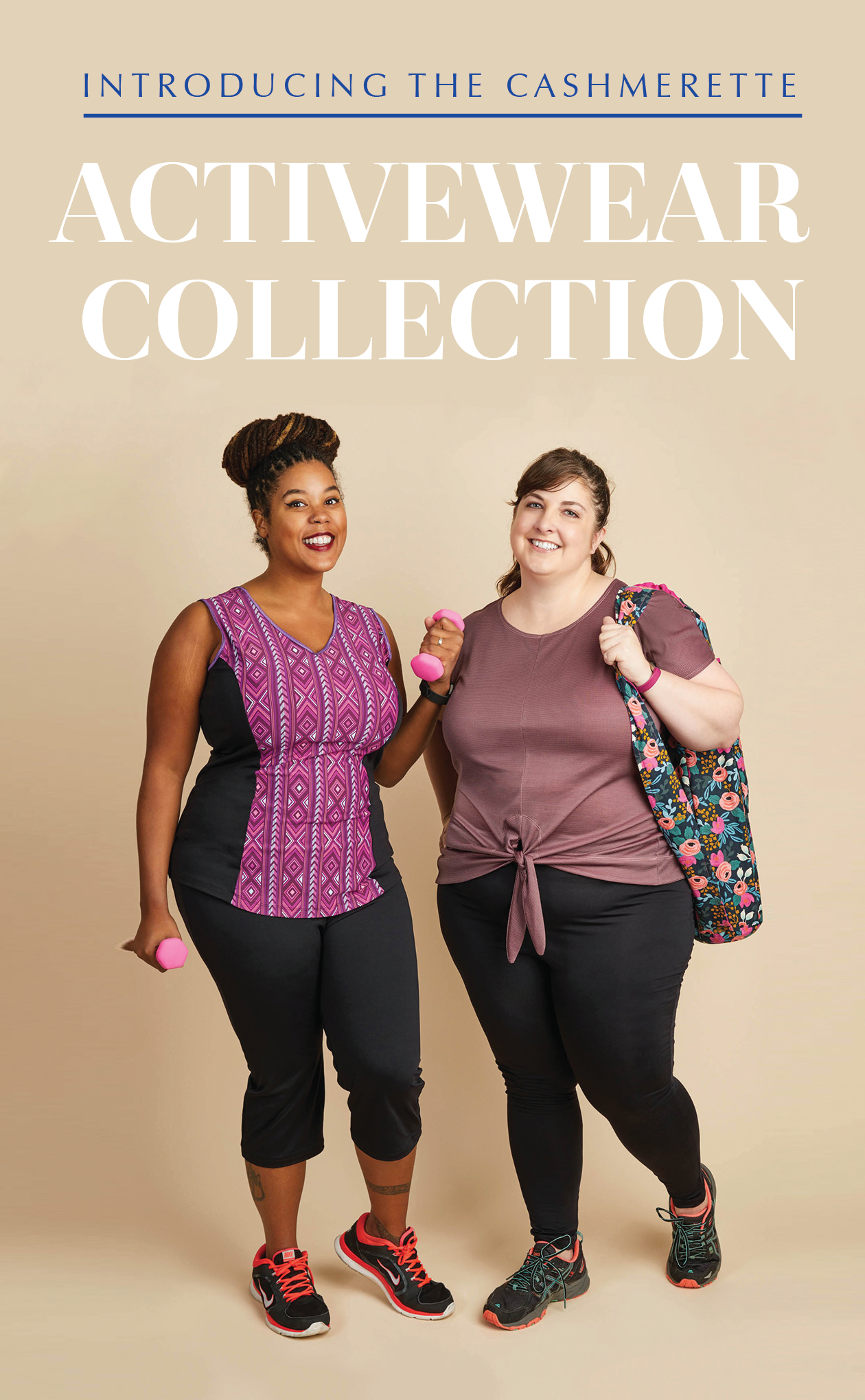 Introducing Our Curvy Plus Size Activewear Sewing Patterns
