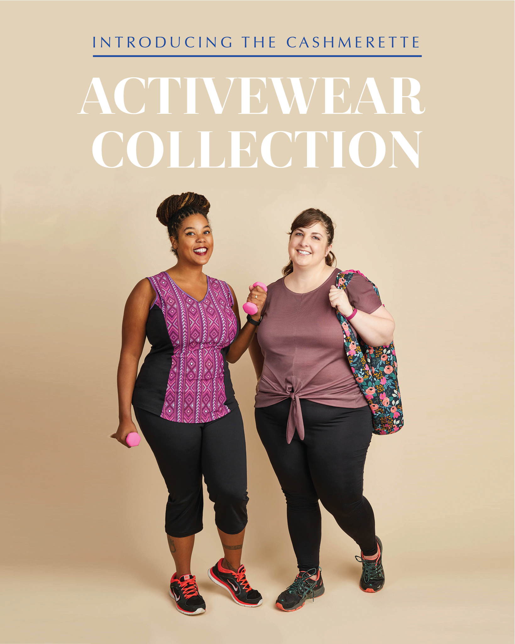 08b0ae0f7cd Introducing our curvy   plus size activewear sewing patterns!