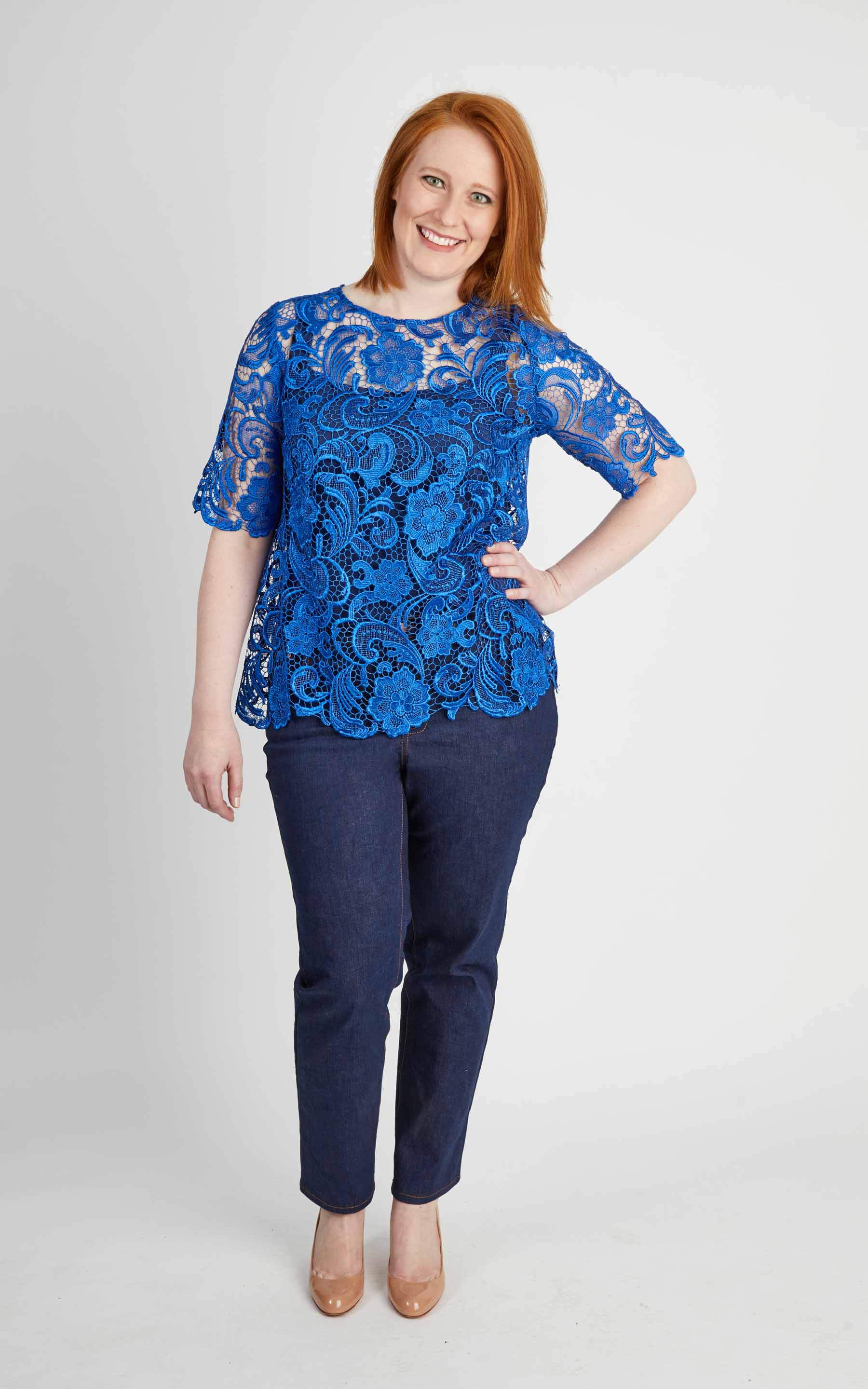 plus size woven top pattern