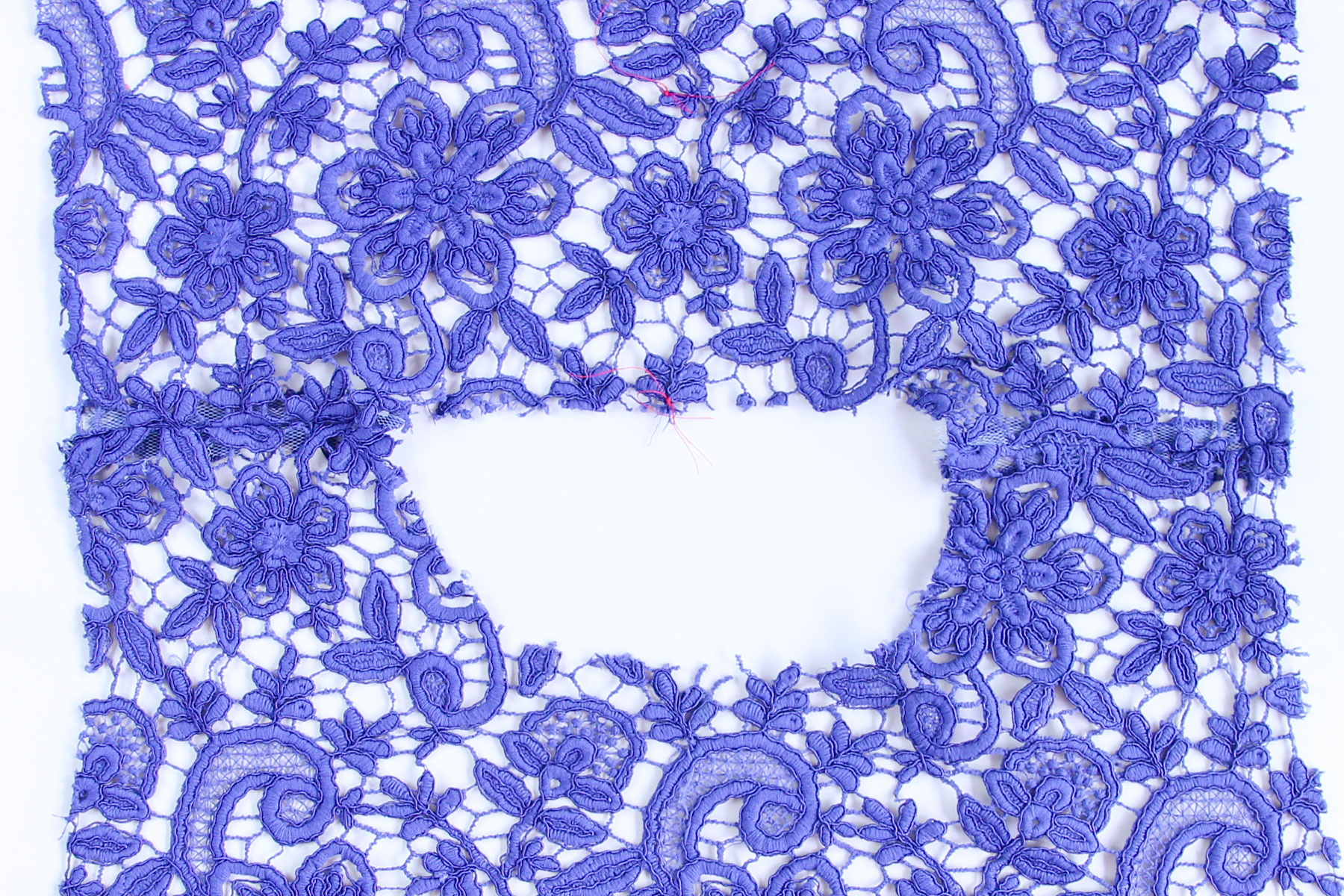 Guipure Lace: Tips and Tricks for Sewing - Montrose Sewalong
