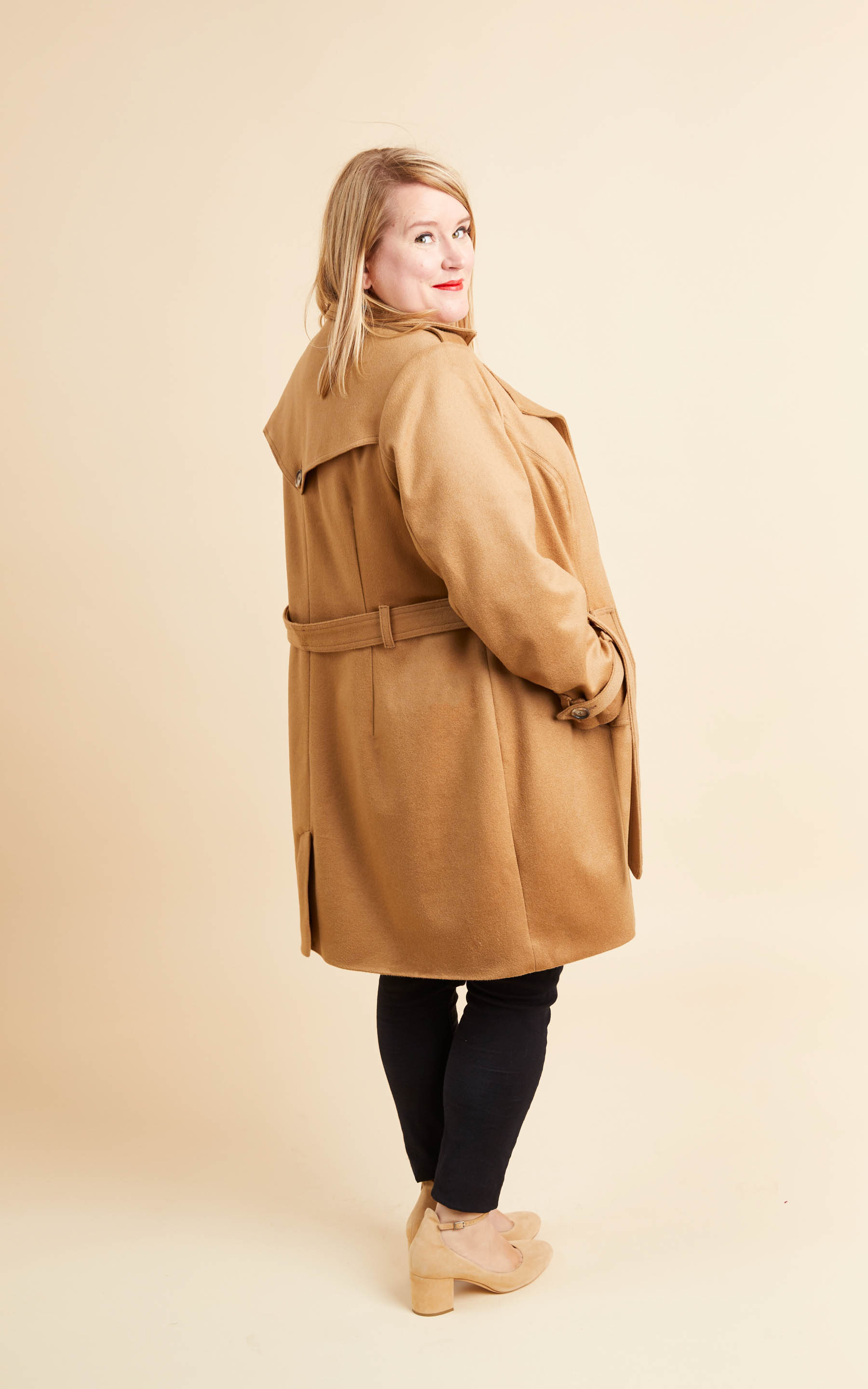 plus size coat sewing pattern