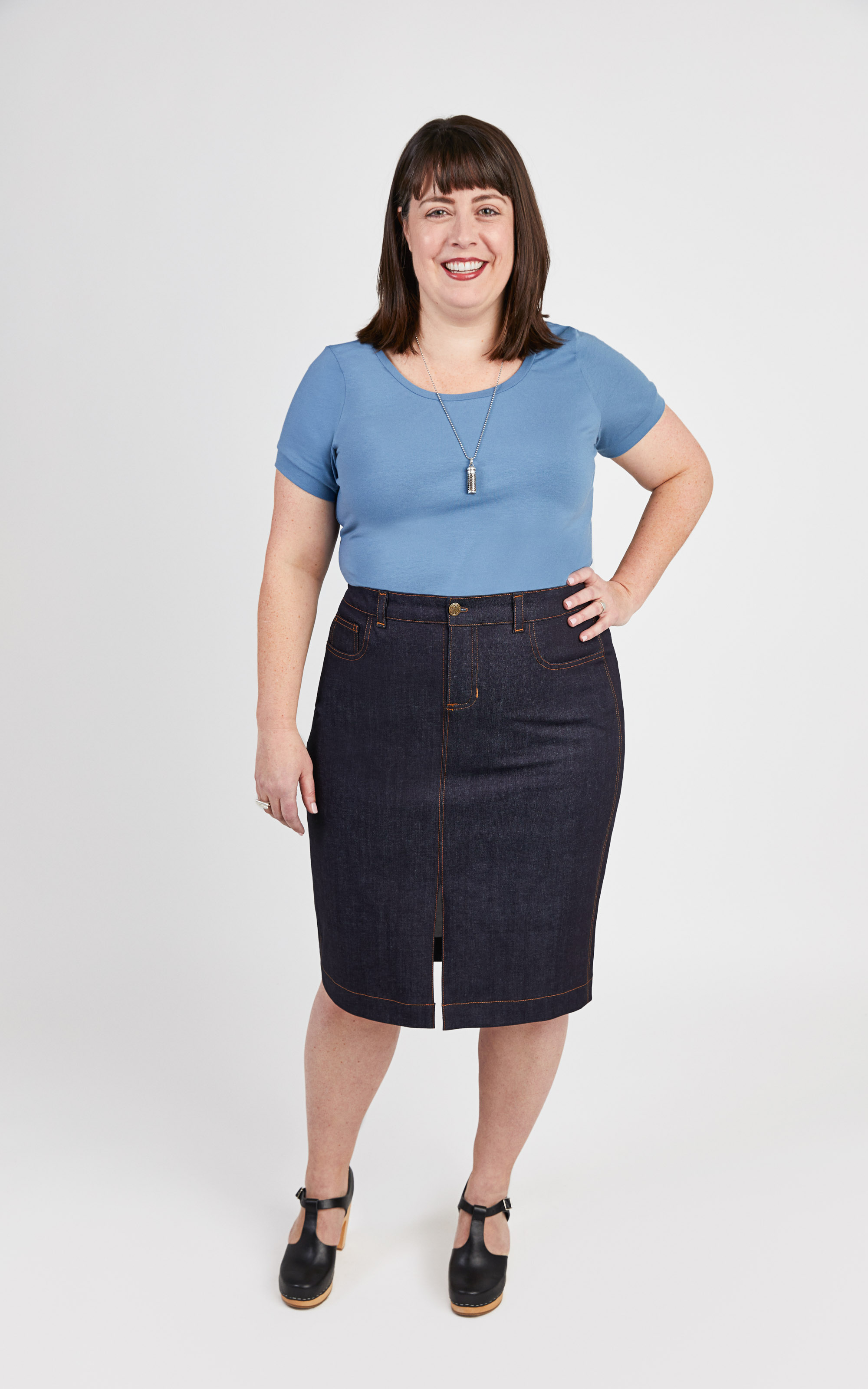 plus size skirt pattern
