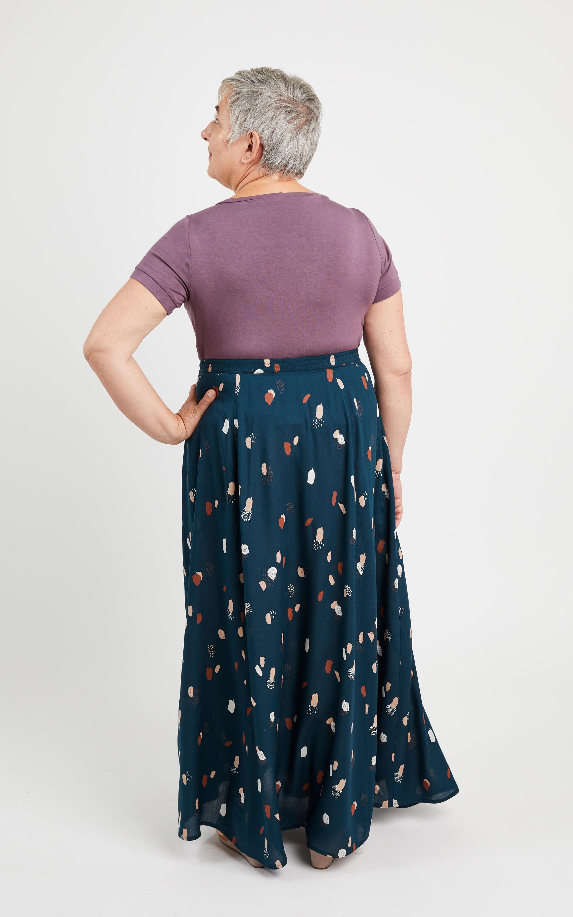 Cashmerette Holyoke Maxi Dress and Skirt sewing pattern