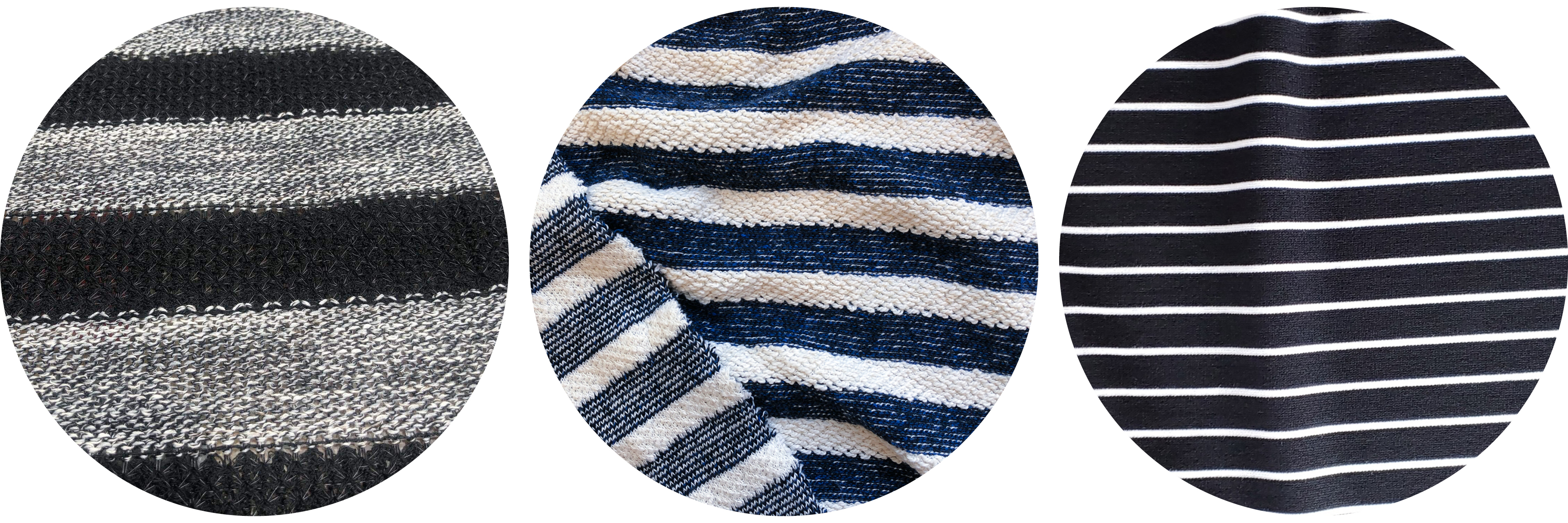 Tobin Sweater knit fabric ideas: stripes