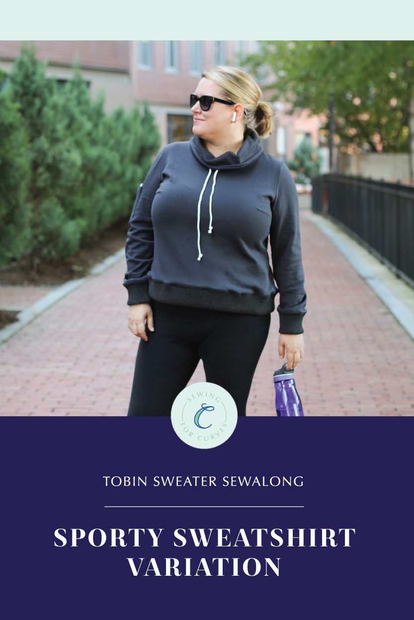 how to sew a workout sweatshirt