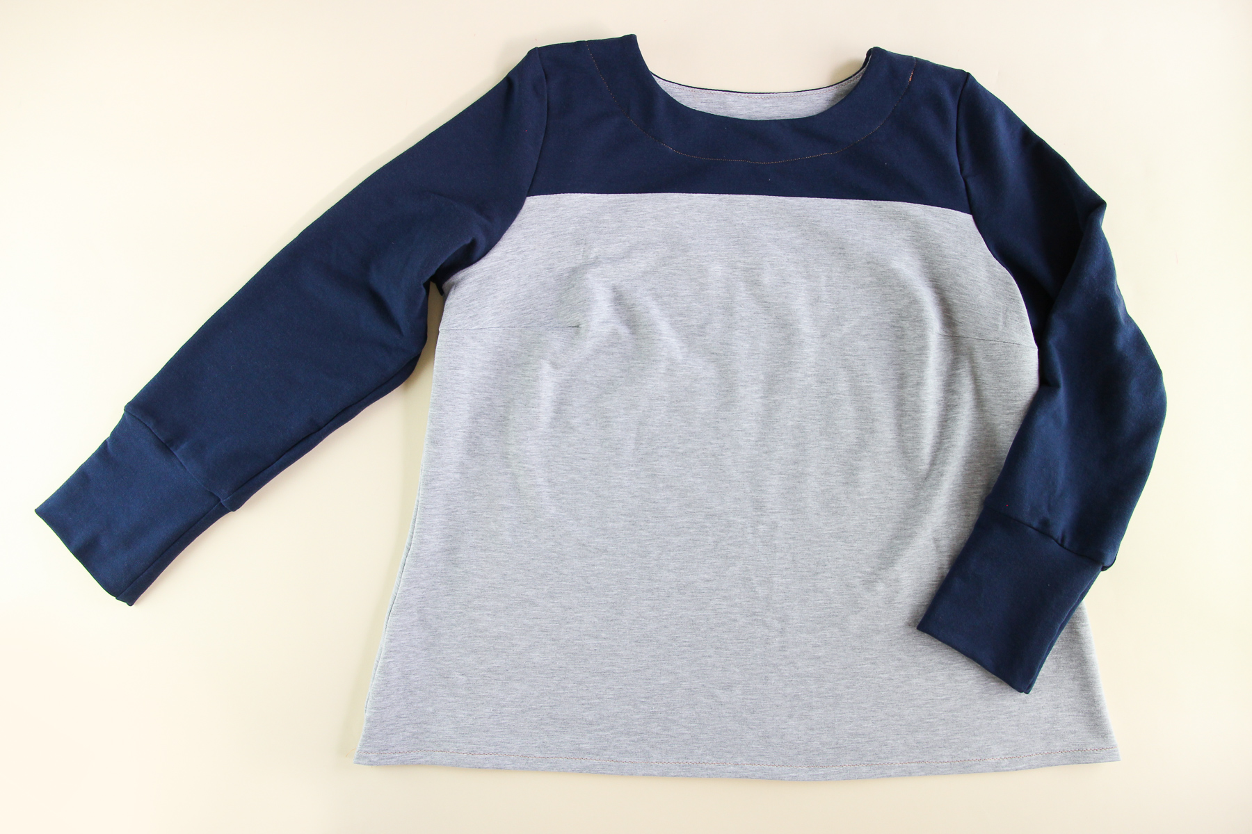 sew a plus size sweatshirt