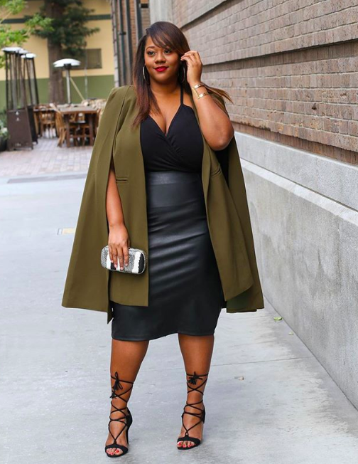 fall fashion trends for curves: capes
