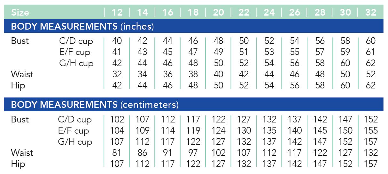 Cashmerette new size range