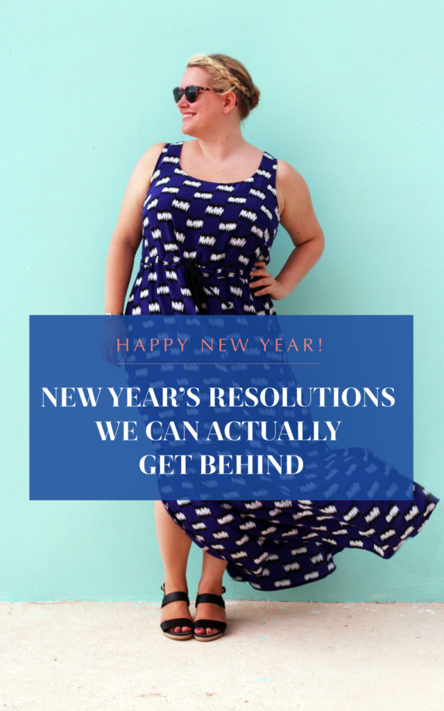 body positive new years resolutions