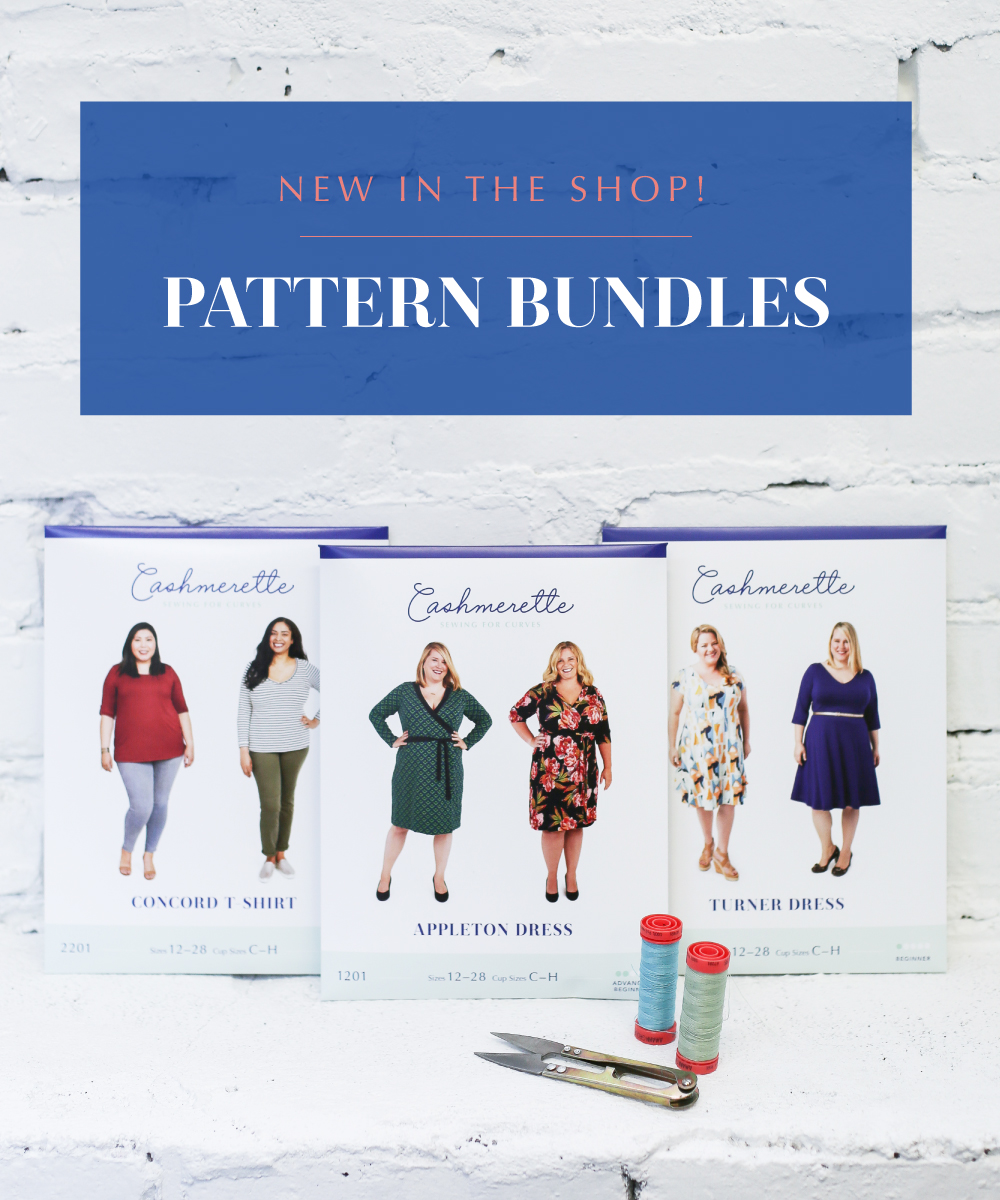New Pattern Bundles from Cashmerette
