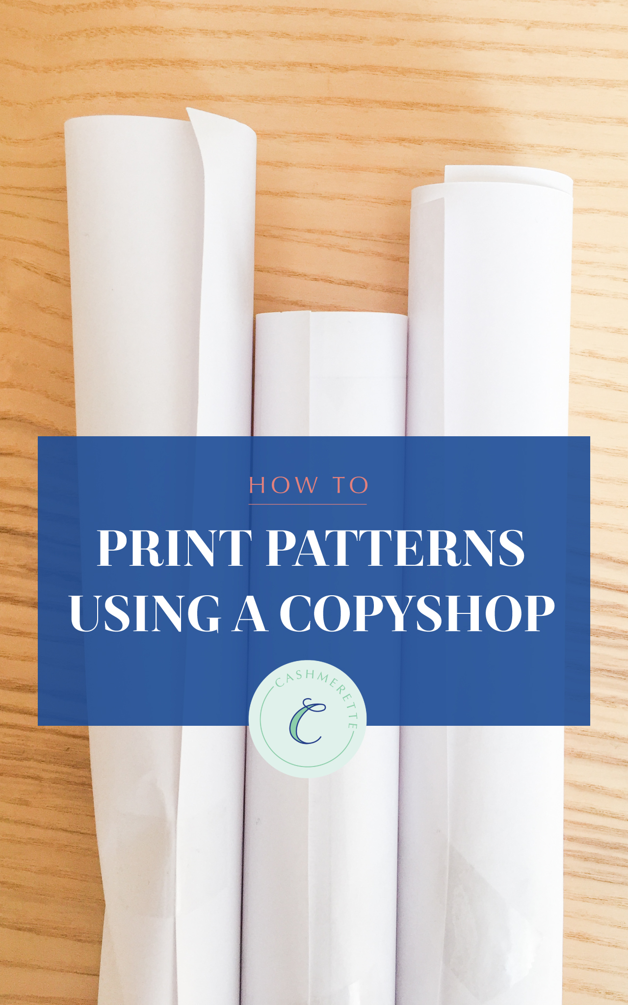how to print patterns using a copyshop