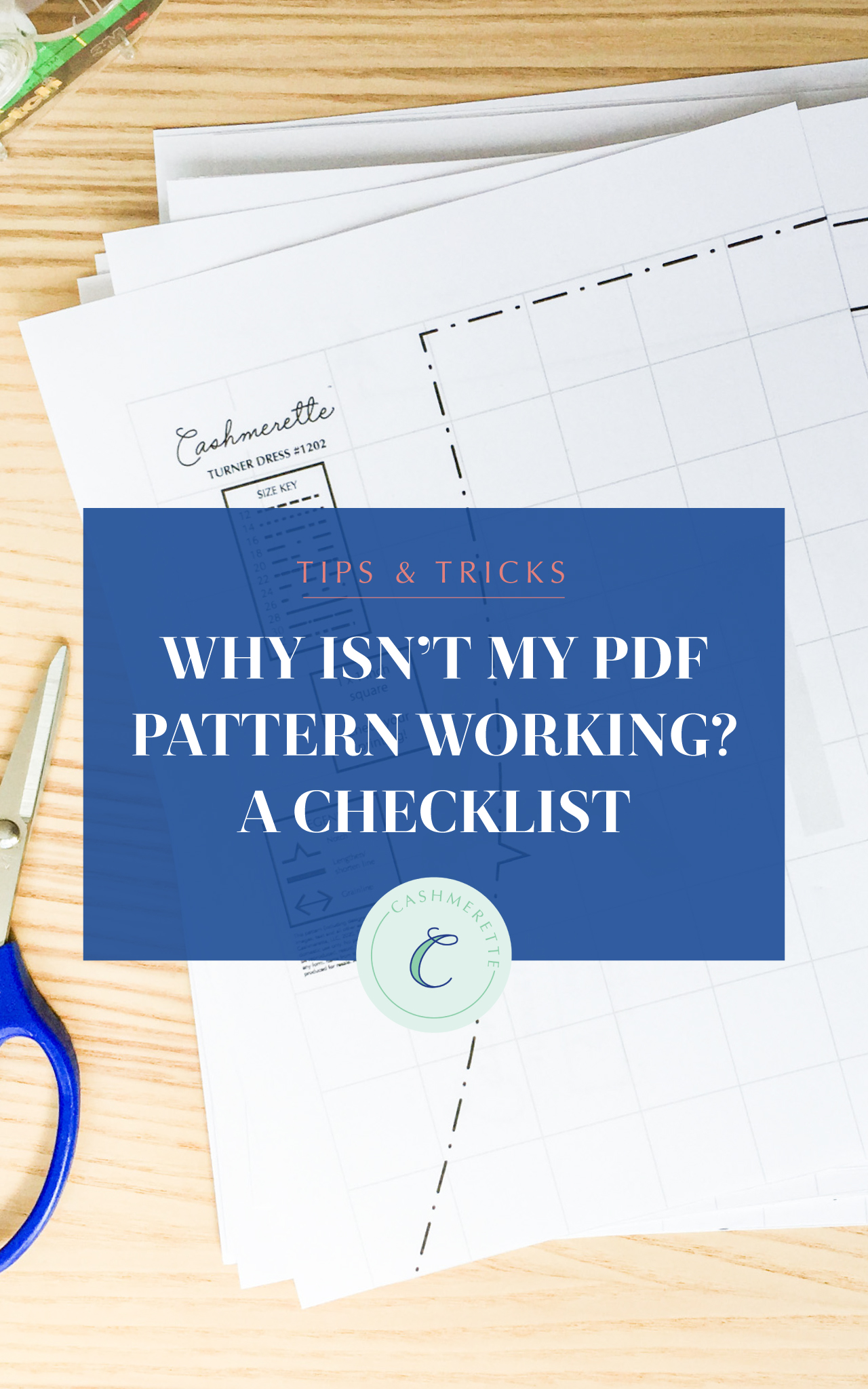 why isn't my PDF pattern working? A checklist