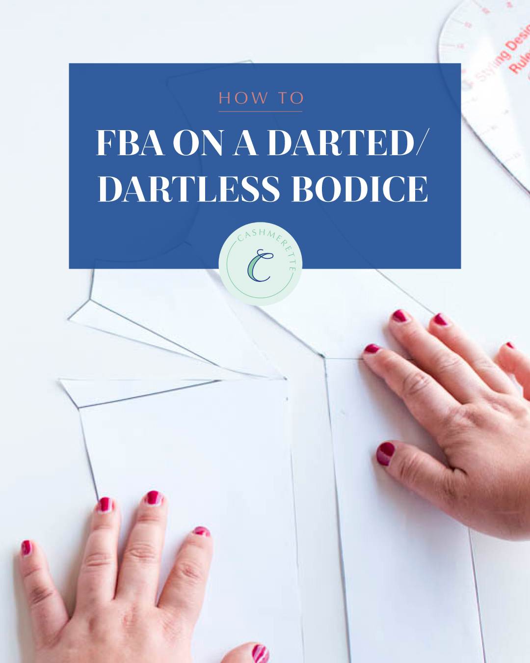 how to do an FBA on a darted/dartless bodice