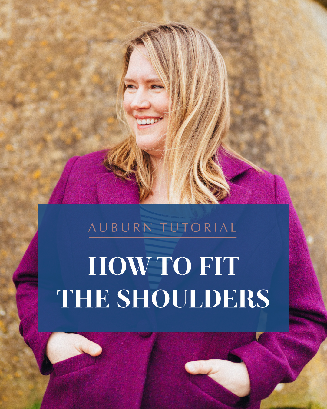 Auburn tutorial: how to fit the shoulders