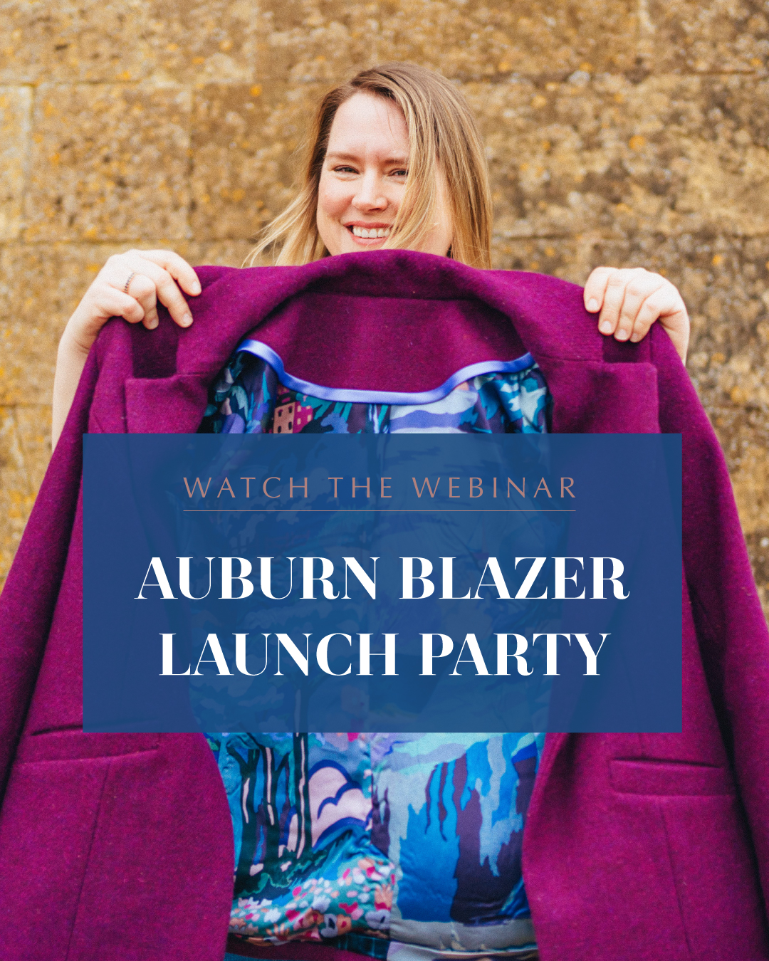Watch the webinar: auburn blazer launch party