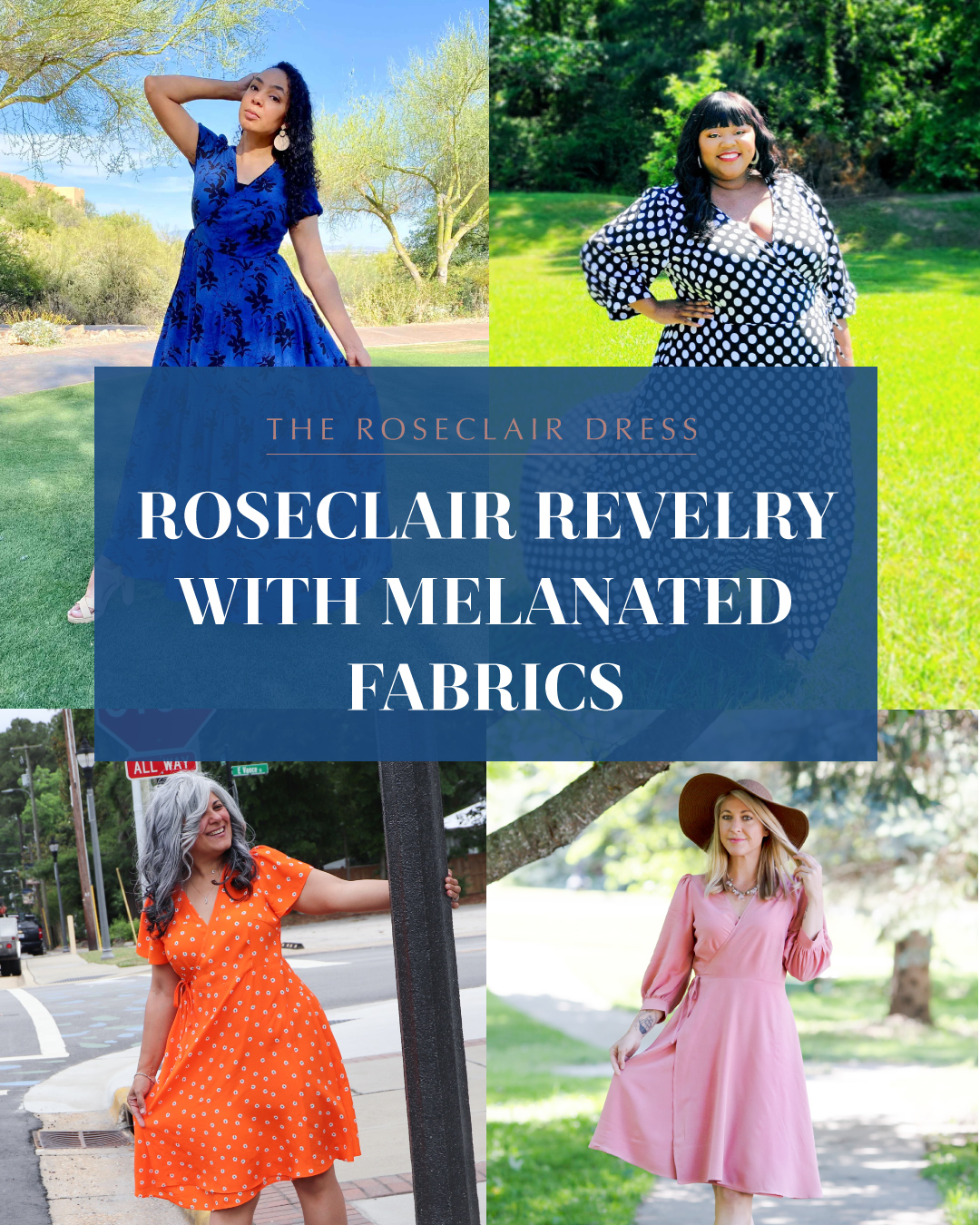 The Roseclair Dress: Roseclair Revelry with Melanated Fabrics